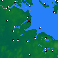 Nearby Forecast Locations - Karby - Χάρτης