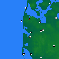 Nearby Forecast Locations - Lemvig - Χάρτης