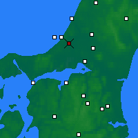 Nearby Forecast Locations - Pandrup - Χάρτης