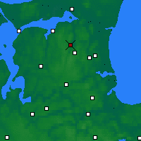 Nearby Forecast Locations - Støvring - Χάρτης