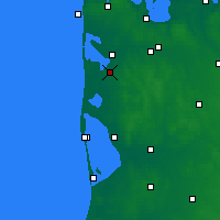 Nearby Forecast Locations - Ulfborg - Χάρτης