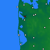 Nearby Forecast Locations - Vemb - Χάρτης
