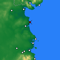 Nearby Forecast Locations - Clogherhead - Χάρτης