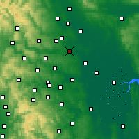 Nearby Forecast Locations - Wetherby - Χάρτης