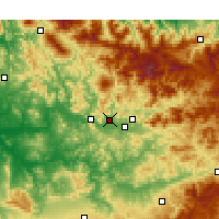 Nearby Forecast Locations - Galaz - Χάρτης