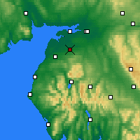 Nearby Forecast Locations - Wigton - Χάρτης