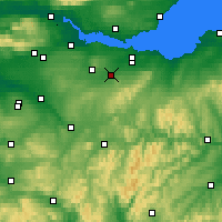 Nearby Forecast Locations - Livingston - Χάρτης