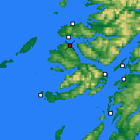 Nearby Forecast Locations - Tobermory - Χάρτης