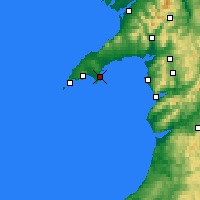 Nearby Forecast Locations - Abersoch - Χάρτης