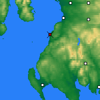Nearby Forecast Locations - Turnberry - Χάρτης