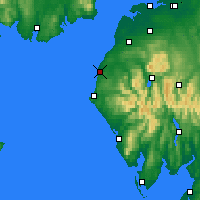 Nearby Forecast Locations - Workington - Χάρτης