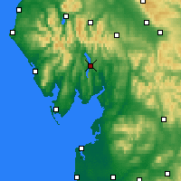 Nearby Forecast Locations - Windermere - Χάρτης