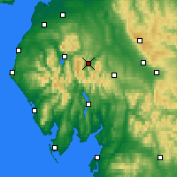 Nearby Forecast Locations - Ullswater - Χάρτης