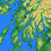Nearby Forecast Locations - Loch Awe - ������