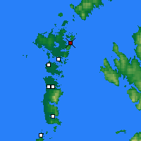 Nearby Forecast Locations - Lochmaddy - Χάρτης