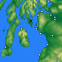 Nearby Forecast Locations - Rothesay - Χάρτης