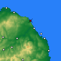 Nearby Forecast Locations - Eyemouth - Χάρτης