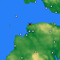 Nearby Forecast Locations - Ilfracombe - Χάρτης