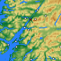 Nearby Forecast Locations - Fort William - Χάρτης