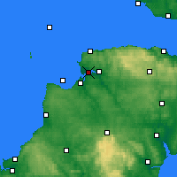 Nearby Forecast Locations - N-Devon - Χάρτης