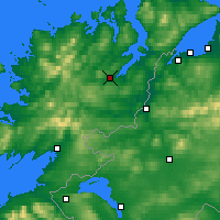 Nearby Forecast Locations - Letterkenny - Χάρτης