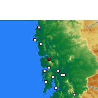 Nearby Forecast Locations - Shirsad - Χάρτης