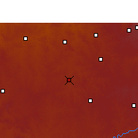 Nearby Forecast Locations - Kriel - Χάρτης