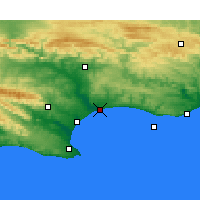 Nearby Forecast Locations - Sundays River - Χάρτης