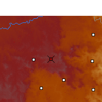 Nearby Forecast Locations - Wakkerstroom - Χάρτης