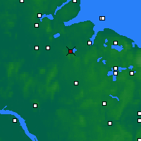Nearby Forecast Locations - Westensee - Χάρτης