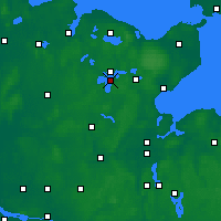 Nearby Forecast Locations - Großer Plöner See - Χάρτης