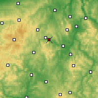 Nearby Forecast Locations - Edersee - Χάρτης