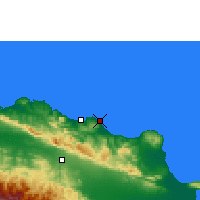 Nearby Forecast Locations - Cabarete - Χάρτης