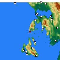 Nearby Forecast Locations - Levkada - Χάρτης