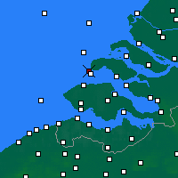 Nearby Forecast Locations - Renesse - Χάρτης