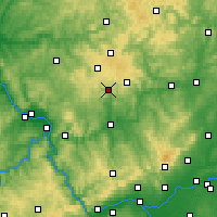 Nearby Forecast Locations - Wiesensee - Χάρτης
