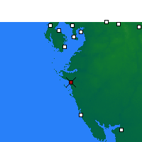 Nearby Forecast Locations - Sarasota - Χάρτης