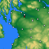 Nearby Forecast Locations - Paisley - Χάρτης