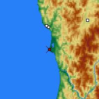 Nearby Forecast Locations - Crescent City - Χάρτης