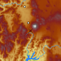Nearby Forecast Locations - Mount Shasta - Χάρτης