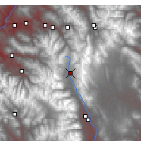 Nearby Forecast Locations - Leadville - Χάρτης