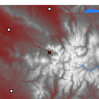 Nearby Forecast Locations - Telluride - Χάρτης