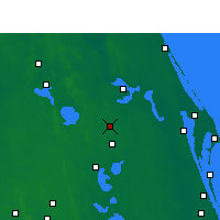 Nearby Forecast Locations - Orlando AP/H - Χάρτης