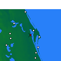 Nearby Forecast Locations - Titusville - Χάρτης