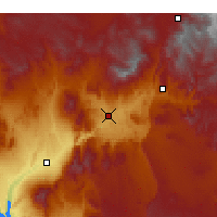 Nearby Forecast Locations - Saint George - Χάρτης