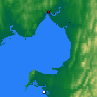 Nearby Forecast Locations - Koyuk - Χάρτης