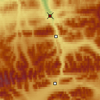 Nearby Forecast Locations - Healy - Χάρτης