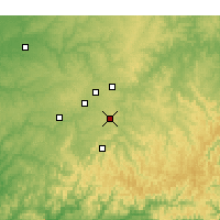 Nearby Forecast Locations - Springdale - Χάρτης