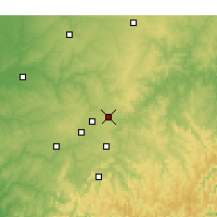 Nearby Forecast Locations - Rogers - Χάρτης