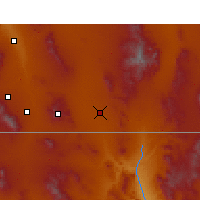 Nearby Forecast Locations - Douglas - Χάρτης